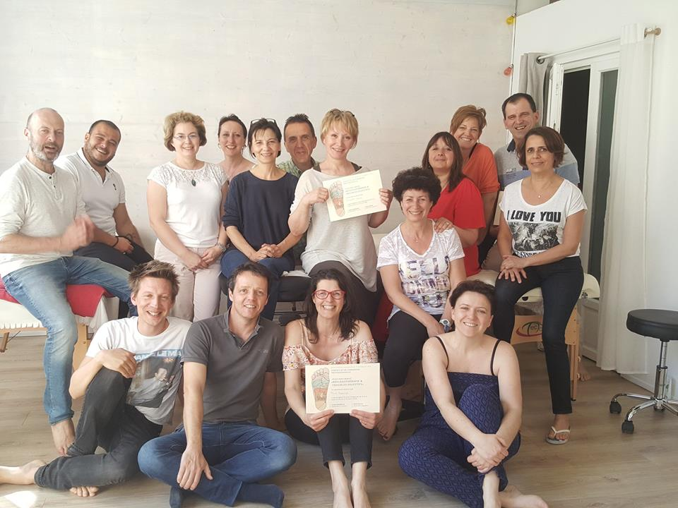 formation digestive, Lyon, avril 2018, L & A formations, réflexologie, Lilian Gautheron, Alice Drevet