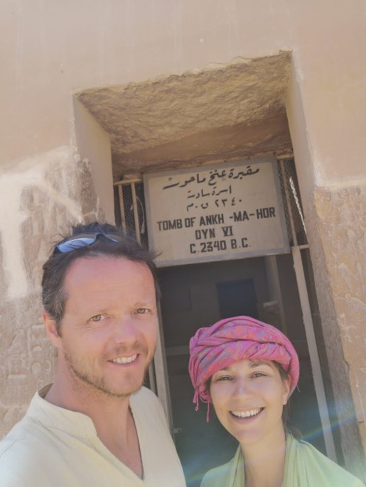 Réflexologie et Egypte